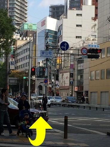 梅田の整体みどり推拿整体院までの道のり5