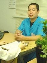 梅田の整体 みどり推拿整体院の院長の写真